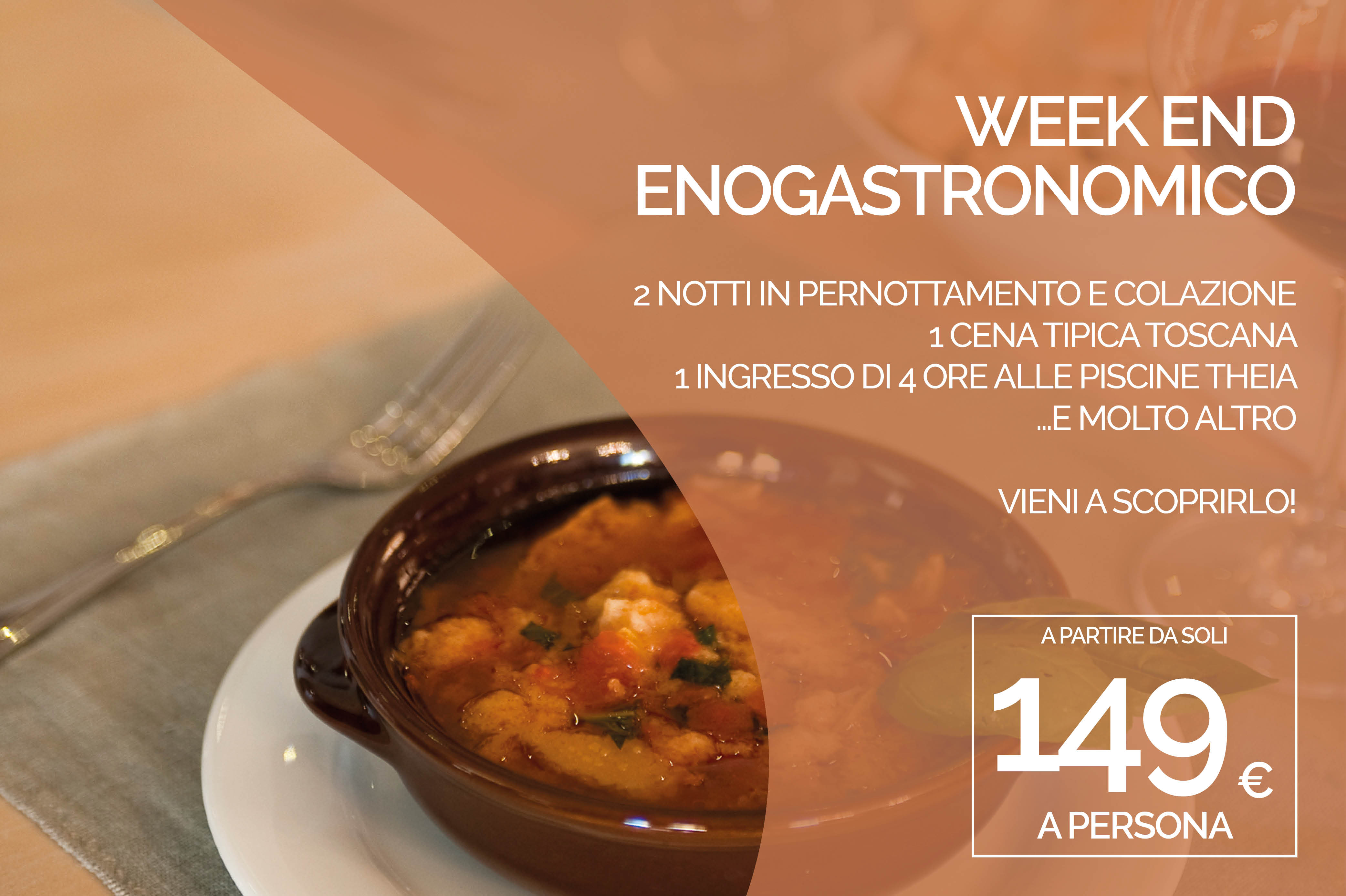 WEEK END ENO GASTRONOMICO 2 NOTTI